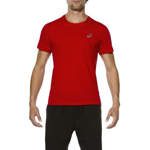 Asics Shirt Race Rouge L dCajN7t